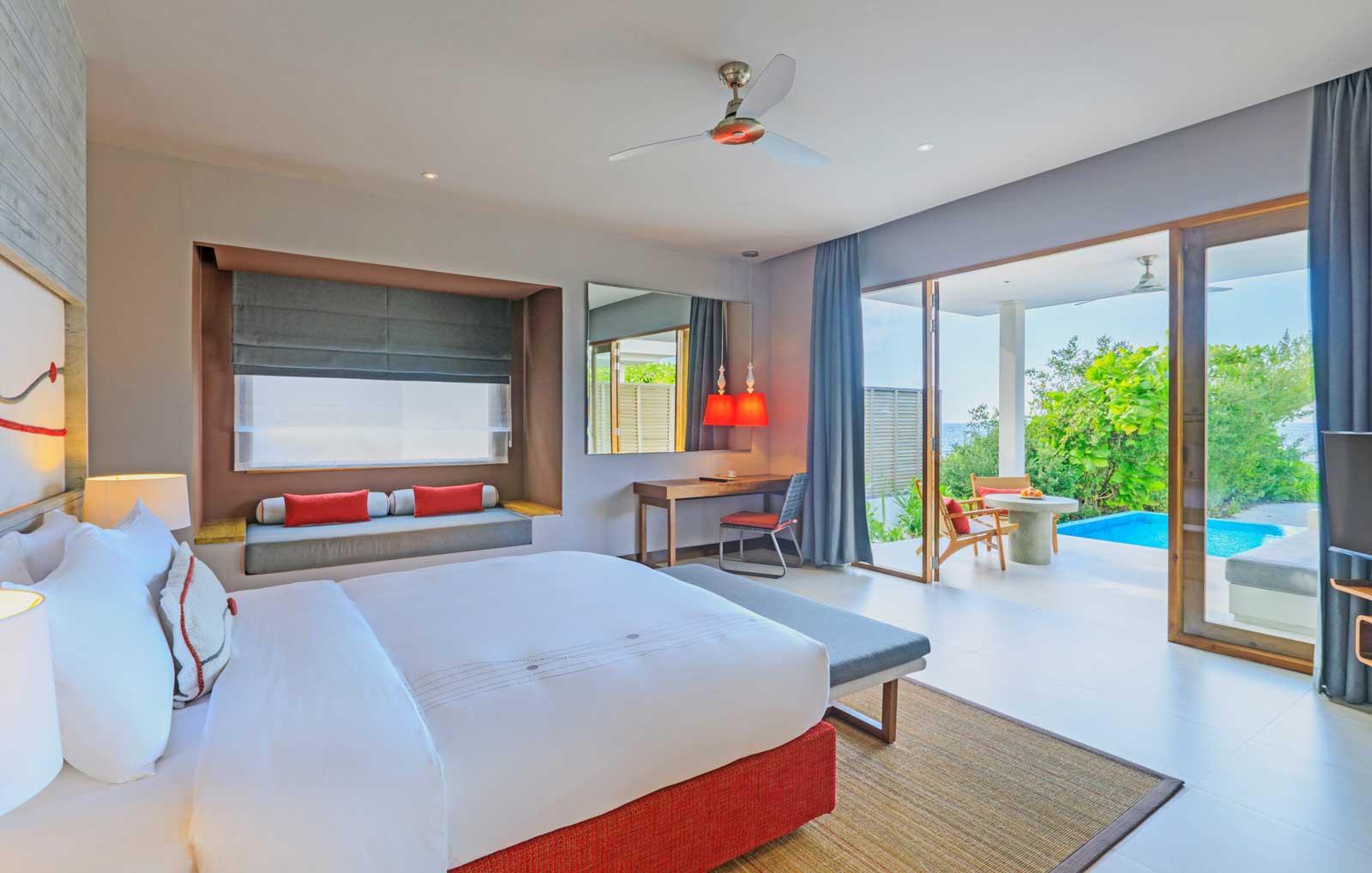dhigali beach villa with pool 2