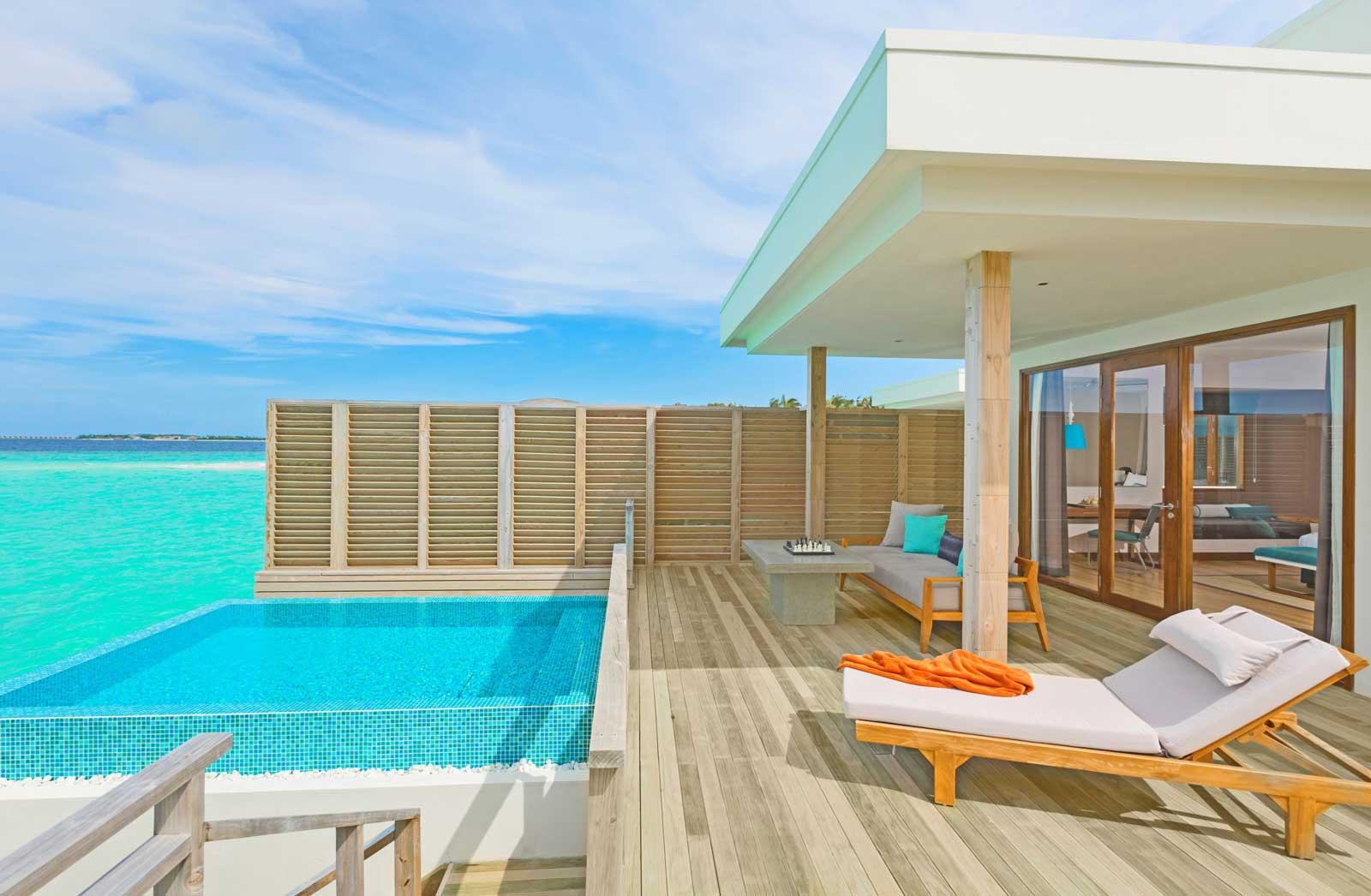 dhigali lagoon villa with pool 2