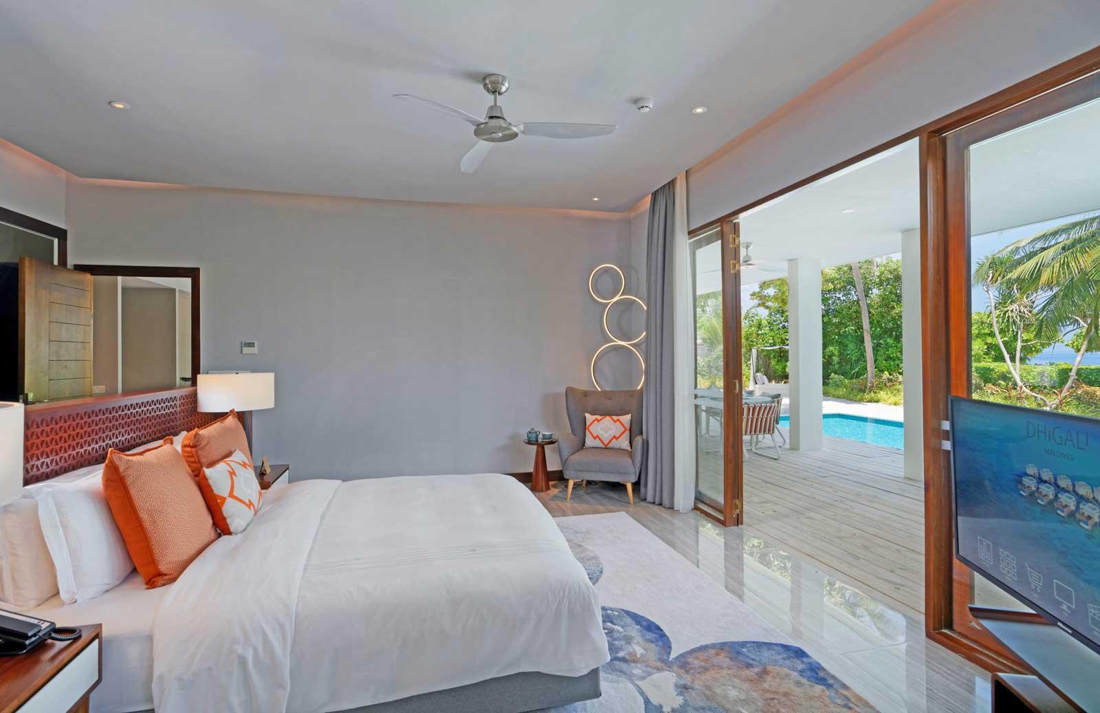 dhigali suite bedroom