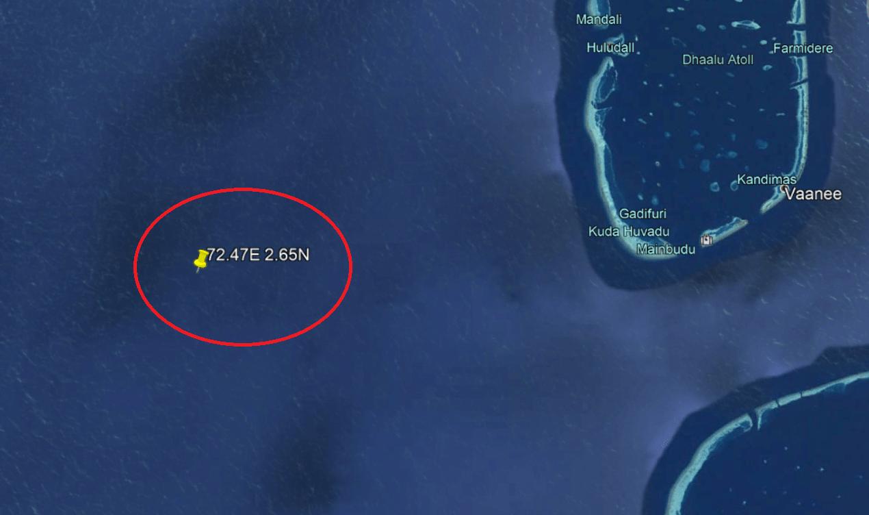 chinese rocket location